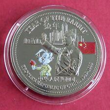 Año Lunar del Conejo color 1999 prueba dólar comercial