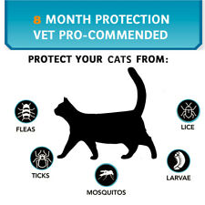 Cats Flea and   Tick Collar Treatment Prevention Adjustable Waterproof R0C4