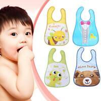 Baby Jungen Mädchen Lätzchen Wasserfest Speichel Handtuch Fütterung Burp Schürze