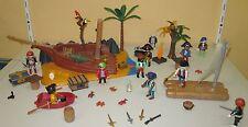 Playmobil Set PLAYMOBIL 4136 - Super Set Seeräuberinsel Riff Wrack Schiffswrack