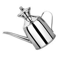 Oil Dispenser Stainless Steel Pot Vinegar Bottle Soy Sauce Kettle Leak-proof
