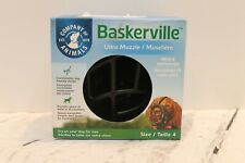 New listing Baskerville Ultra Muzzle for Dogs Size 4 - Dogs 40-65 lbs