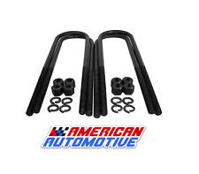 """2005-2011 Dodge Dakota 2WD/ 4WD 1-2"""" Rear Lift U Bolts 10"""" Extra Long OEM Materi"""