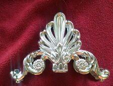 Vintage Silver Plated Napkin or Knife Holder - lovely patina - from estate sale