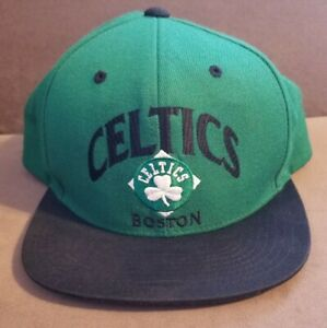 Mitchell & Ness Boston Celtics Hat NBA Nostagia Co Snapback Cap 20% Wool
