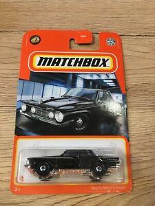 Matchbox Long card 1962 Plymouth Savoy