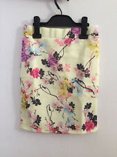 Girls ex River Island Kids Floral Skirt in Yellow