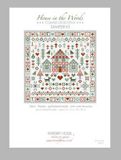 HOUSE in the WOODS CROSS STITCH SAMPLER KIT by RIVERDRIFT HOUSE