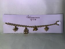 NEW Taylor Swift Wonderstuck Charm Bracelet! Gold Color With Toggle Clasp