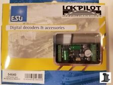 ESU 54640 ~ New 2020 ~ LokPilot XL MM/DCC/SX/M4 ~ 8 Outputs With PowerPack