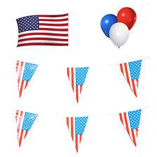 AMERICA/AMERICANO/USA Party Pack. Bandierine/Bandiera/Palloncini