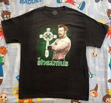 Sheamus T-Shirt L WWE/WWF 3d basic celtic warrior the bar laoch irish wrestler