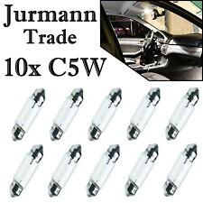 10x Jurmann C5W 36 mm 12V Long Life Innenbeleuchtung Halogen Soffitte Auto Lampe