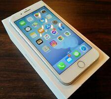 Apple iPhone 7 Plus Silver 128gb Unlocked Sim Free Good Condition Cracked Screen