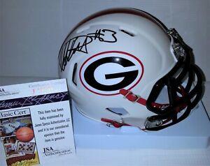 Todd Gurley Signed Autographed Georgia Bulldogs Mini Helmet JSA J19786 Lmt Ed