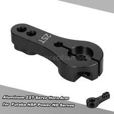 Aluminum 25T Servo Horn Arm for Futaba HSP Power HD Servos Black W6N4