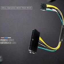 for DELL Optiplex 3020 7020 9020 8-pin power cord ATX 8P 24P to line B9G2 O9C2