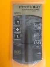 Aquamira Frontier Emergency Water Filter  & WCU Bag Disaster Survival Prepper