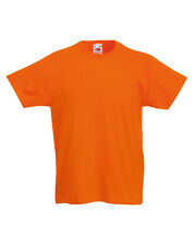 FOTL Childrens100% Cotton Plain Kids T Shirt Extra10% Off When you buy 3 or More