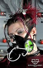 Cryoflesh Cydonia Goth Industrial EMO EBM Rave Cyberpunk Cyber Gas Mask