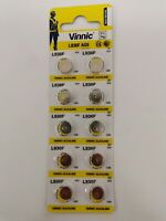 10 Pieces AG9 Battery (SR936/394/625) 1.55v Alkailine Button Battery - Free Ship