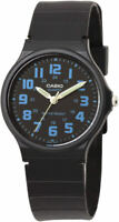 Casio MQ71-2B Black Resin Easy Reader Analog Dial Watch