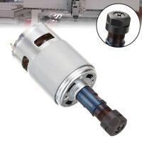 775 Spindel DC 12-36V Spindelmotor ER11 1000RPM CNC Spindle Motor Engraving DE
