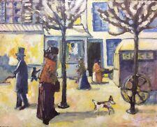 Paris Montparnasse peinture postimpressionniste apocryphe XIXe milieu XXe