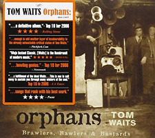 Tom Waits-Orphans - Brawlers, Bawlers and Bastards  CD NEW