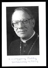 Weihbischof in Mainz Wolfgang Rolly Autogrammkarte Original Signiert ## BC 43444