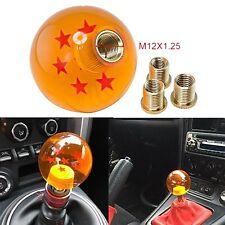 M8/M10/12 Rare Gear Shift Knob DragonBall Dragon Z Ball 54MM ID 7 Star For Honda