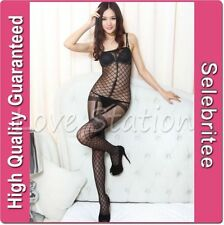 Women's Nylon Body Glamour Stockings & Hold-Ups