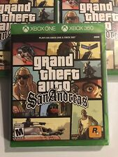 Brand New Grand Theft Auto: San Andreas Microsoft Xbox One Sealed Version