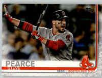 (15) 2019 Topps Series 2 15-Card Base Lot STEVE PEARCE Red Sox #694