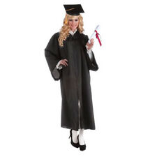 Womens Black Graduation Costume Robe One Size Adult | FORUM NOVELTIES 69491