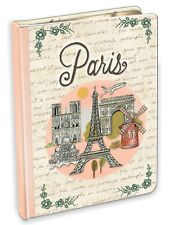 Punch Studio Lady Jayne Stationery Journal - Globe Trotting Paris 14682