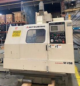 MITSUBISHI M-V5B 1995 CNC VERTICAL MILL CAT 40 VMC