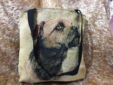 Border Terrier dog tote bag 1139-B (Robert may) Pure Country Weavers New