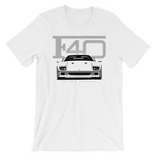 Ferrari F40 Shirt -  F50, F12, 458, Enzo, Supercar, 430, 599,