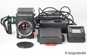 *EXC++* ROLLEI 6008 Professional Rolleiflex SLX + 80mm f2.8 Planar HFT + extras