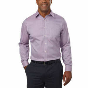 Kirkland Signature Men's TAILORED FIT Dress Shirt Non-Iron 100% Cotton #202