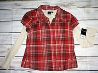 Women's Sonoma Layered Top...Size Large  NWT