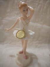Royal Doulton Little Ballerina 3395 Free Domestic Ship/ins 12-613