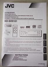 Betriebsanleitung / Handbuch JVC KD-SH9101 CD Receiver Stand 2003