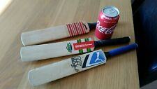 3 Miniature Cricket Bats One Signed (Alex Tudor) Nice Lot for any Cricket Fan