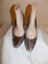 Sam Edelman Metallic Silver Man Made  Classic Pumps Shoes Shoe Size 10 M
