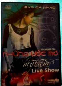 DVD ASIATIQUE NHUNG UOC MO MY TAM LIVE SHOW Ref 0582