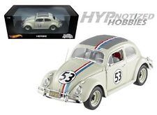 HOTWHEELS 1:18 HERBIE THE LOVE BUG VOLKSWAGEN BEETLE BLY59