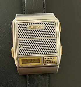 Rare, Vintage Seiko Talking Watch For Vision Impaired (A966-4010)