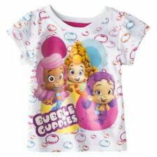Bubble Guppies t Tee Shirt Toddler Girls short sleeve Bubble Birthday Party 3T